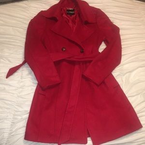 Red Express Peacoat ❤️❤️
